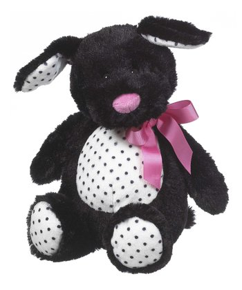 Black Licorice Puppy Plush Toy