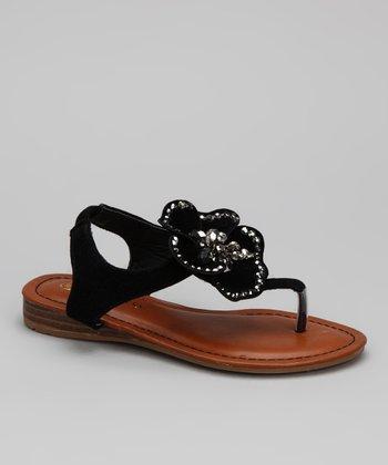 Black Cat Sandal
