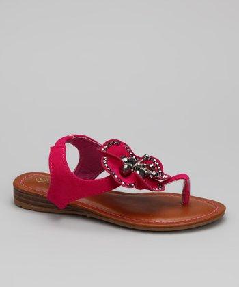 Fuchsia Cat Sandal
