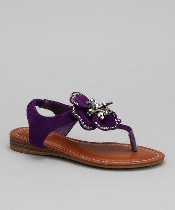 Purple Cat Sandal