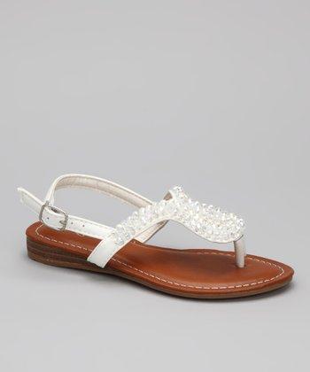 White Donnuts Sandal