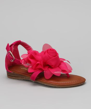 Fuchsia Fresh Sandal