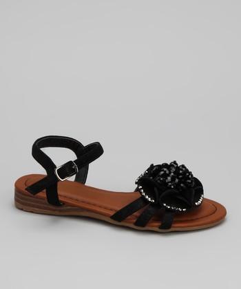 Black Momo Sandal