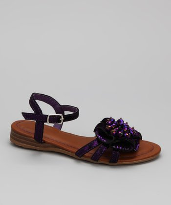 Purple Momo Sandal