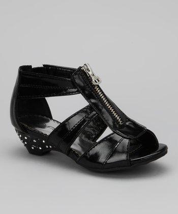Black Sasa Sandal