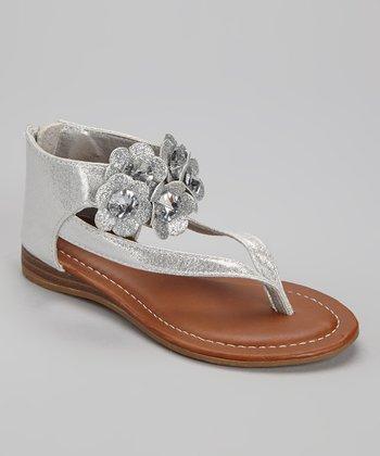 Silver Vivi Sandal