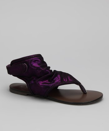Purple Yoyo Gladiator Sandal