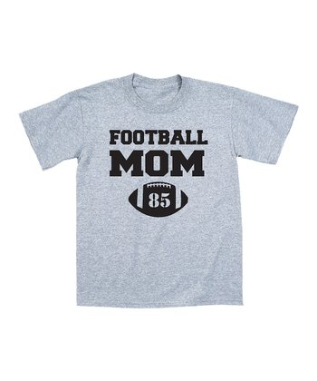 Heather 'Football Mom' Personalized Tee - Women