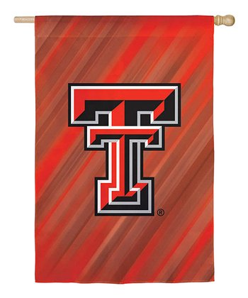 Texas Tech Red Raiders Sueded Flag