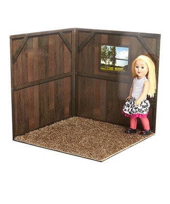 Barn 18'' Doll Room Set