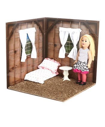 Cabin 18'' Doll Room Set