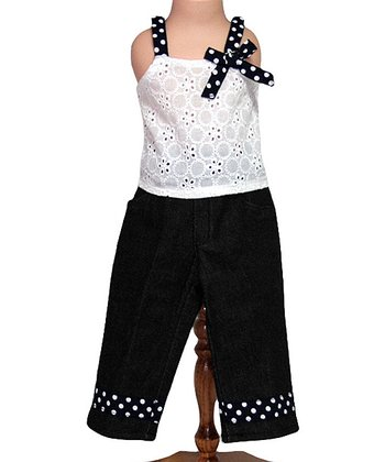 Breezy Polka Dot Doll Top & Bottoms