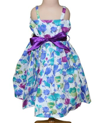 Water Posies 18'' Doll Dress