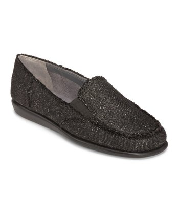 Black & Gray So Soft Loafer
