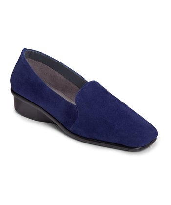 Blue Suede Me Time Loafer