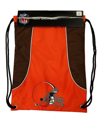 Orange Cleveland Browns Axis Drawstring Backpack