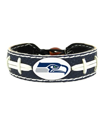 Seattle Seahawks Navy NFL Bracelet