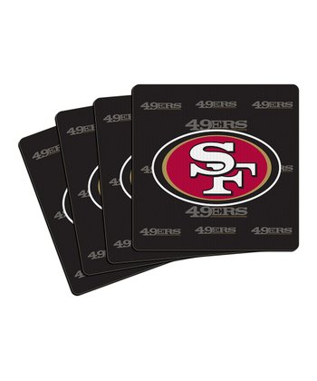 San Francisco 49ers Neoprene Coaster - Set of Four