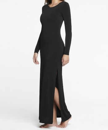 Black Shaper Maxi Dress - Women
