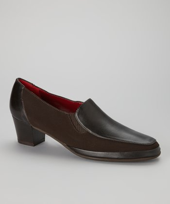 Brown Leather Lucky Loafer