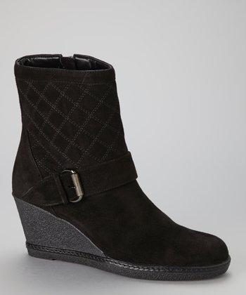 Black Maga Wedge Boot