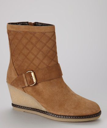 Tan Maga Wedge Boot