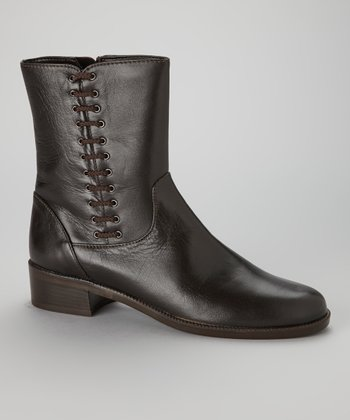 Brown Leather Melodia Boot