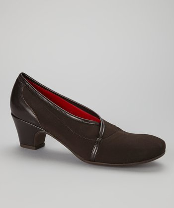 Brown Piccina Pump