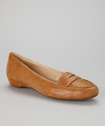 Cognac Leather Sondrio Loafer