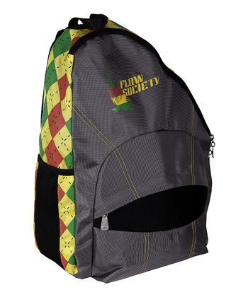 Charcoal Argyle Sling Backpack