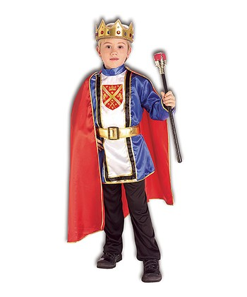 Red Royal King Dress-Up Oufit - Boys