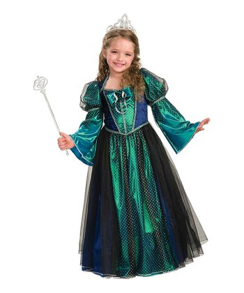 Green Twilight Princess Dress - Girls