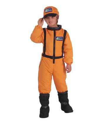 Orange Shuttle Commander Dress-Up Oufit - Boys