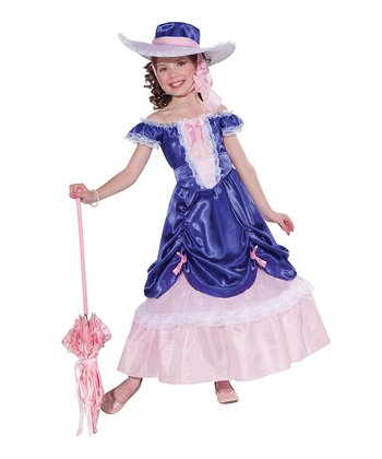 Blue Blossom Southern Belle Dress-Up Oufit - Girls