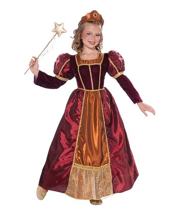Red Enchanted Princess Dress-Up Oufit - Toddler & Girls