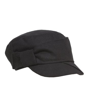 Black Soft Cadet Cap