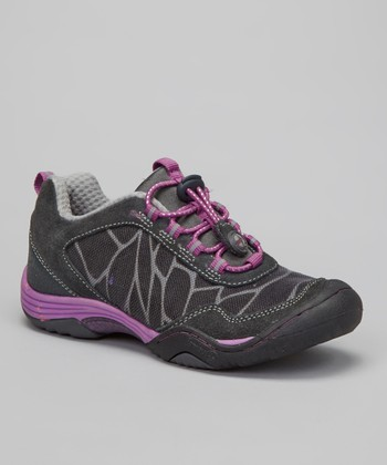 Dark Gray Saki All-Terrain Shoe - Girls