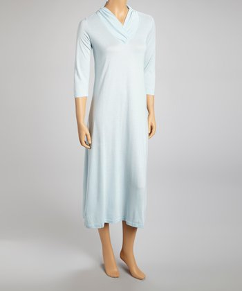 Riviera Blue Nightgown