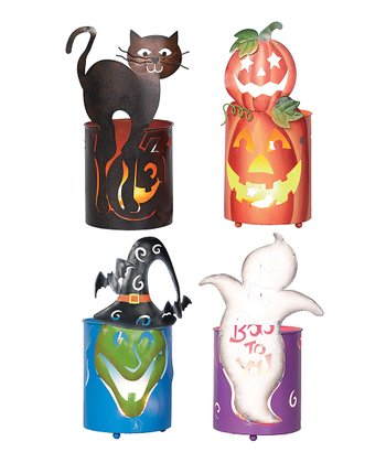 Ghost & Witch Halloween Bucket Set
