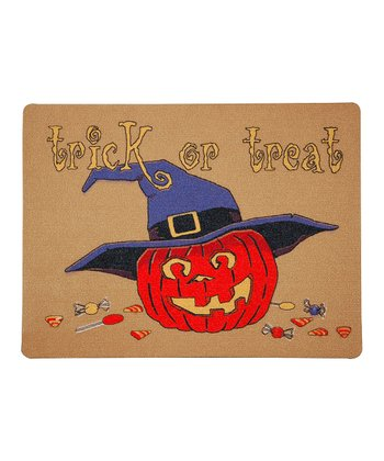 Pumpkin Treats Outdoor Doormat