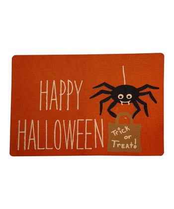 Spider Treat Outdoor Doormat