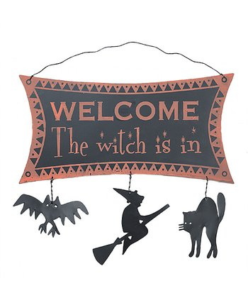 'The Witch is In' Wall Art