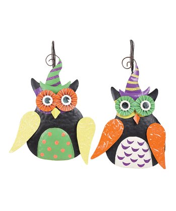 Witch Owl Hanging Décor Set
