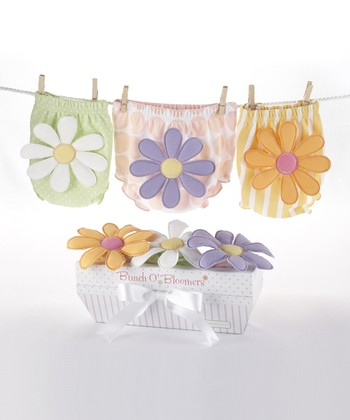 Pastel Bunch o' Blooms Diaper Cover Set