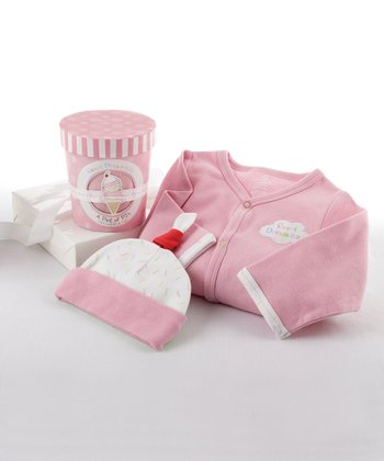 Strawberry 'Sweet Dreamzzz' Footie & Beanie - Infant