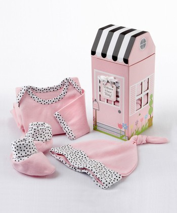 Pink Welcome Home Layette Set