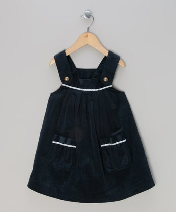 Blue Corduroy Jumper - Infant, Toddler & Girls