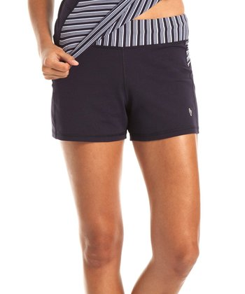 Navy Stripe Maldives Shorts