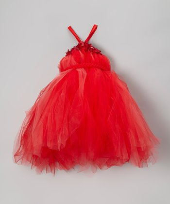 Red Tutu Dress - Infant, Toddler & Girls