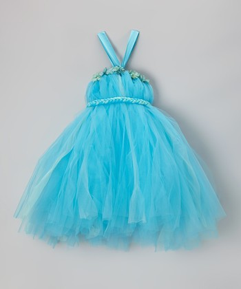 Aqua Tutu Dress - Infant, Toddler & Girls